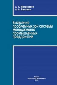 Выявление проблемных зон системы менеджмента промышленных предприятий ISBN 978-5-91292-088-2